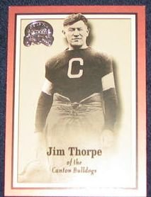 2000 Fleer Greats of the Game Jim Thorpe #81