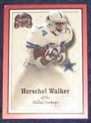 2000 Fleer Greats of the Game Herschel Walker #48