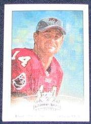 2002 Donruss Gridiron Kings Brad Johnson #92 Buccaneers