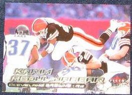 2000 Fleer Ultra Karim Abdul-Jabbar #107 Browns