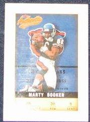 2002 Fleer Authentix Marty Booker #38 Bears