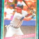 1994 Post Dave Justice #6 Braves