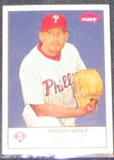 2005 Fleer Tradition Randy Wolf #151 Phillies