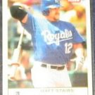 2005 Fleer Tradition Matt Stairs #16 Royals