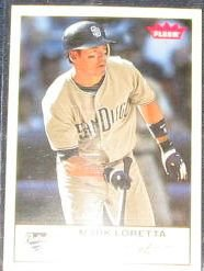 2005 Fleer Tradition Mark Loretta #223 Padres