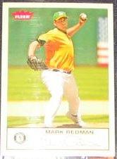 2005 Fleer Tradition Mark Redman #252 Athletics