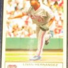 2005 Fleer Tradition Livan Hernandez #241 Nationals
