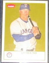 2005 Fleer Tradition Laynce Nix #229 Rangers