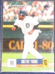 2005 Donruss Dmitri Young #182 Tigers