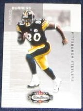 2002 Fleer Boxscore Plaxico Burress #17 Steelers