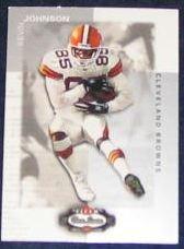 2002 Fleer Boxscore Kevin Johnson #90 Browns
