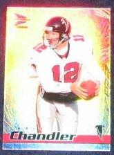 1999 Pacific Prism Chris Chandler #7 Falcons