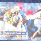 2000 Fleer Impact Marshall Faulk #30 Rams