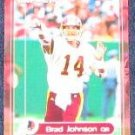 2000 Fleer Impact Brad Johnson #101 Redskins