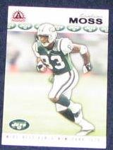 2002 Pacific Adrenaline Santana Moss #196 Jets