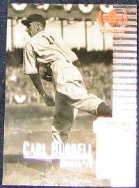 1999 Upper Deck Century Legends Carl Hubbell #45 Giants