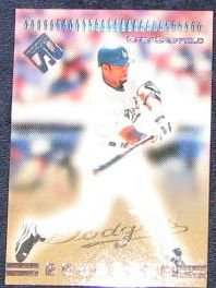 1999 Private Stock Gary Sheffield #138 Dodgers