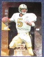 1998 Playoff Momentum Heath Shuler #143 Saints