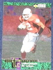1997 Coll. Choice Turf Champ. LeShon Johnson #TC25