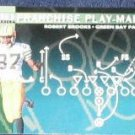 1996 Coll. Choice Play-Maker Robert Brooks #U73 Packers