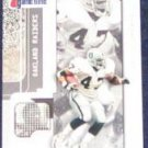 2001 Fleer Game Time Tyrone Wheatley #69 Raiders