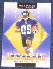 2002 Donruss Rated Rookie Chester Taylor #229