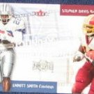 2000 Fleer Sunday Showdown E. Smith/S. Davis #1