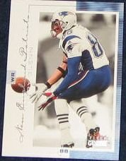 2001 Fleer Genuine Terry Glenn #78 Patriots