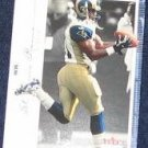 2001 Fleer Genuine Az-Zahir Hakim #9 Rams