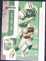 2001 Fleer Game Time Wayne Chrebet #73 Jets