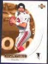 2000 Upper Deck Ovation Chris Chandler #3 Falcons
