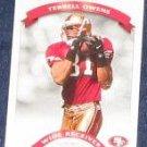 2002 Donruss Classics Terrell Owens #33 49ers