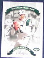 2002 Donruss Classics Vinny Testaverde #79 Jets