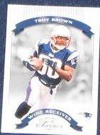 2002 Donruss Classics Troy Brown #78 Patriots