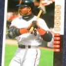 1998 Score Barry Bonds #5 Giants