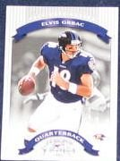 2002 Donruss Classics Elvis Grbac #46 Ravens