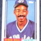 1992 Topps Debut Derek Bell #14 Blue Jays