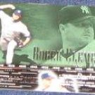 2002 UD POH Roger Clemens #41 Yankees