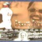 2002 UD POH Reggie Jackson #3 Athletics