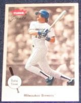 2002 Fleer Greats of the Game Robin Yount #66 Brewers
