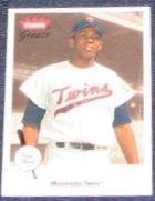 2002 Fleer Greats of the Game Tony Oliva #90 Twins