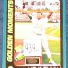 2001 Topps Golden Moments Rickey Henderson #787
