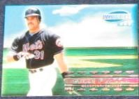 1999 Pacific Invincible Mike Piazza #10 Mets