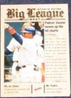 2001 UD Big League Beat Tony Gwynn #BB13 Padres