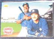 1993 Upper Deck Teammates Kelly/Mattingly #47 Yankees