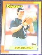 1990 Topps Don Mattingly #200 Yankees