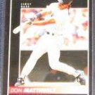 1992 Pinnacle Don Mattingly #23 Yankees