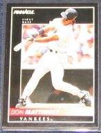 1992 Pinnacle Don Mattingly #23 Yankees