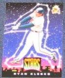 1994 UD Fun Pack Ryan Klesko #7 Braves