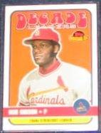 2001 Topps American Pie Bob Gibson #DLS Cardinals